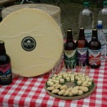 Our launch event was supported by local cheese and drink producers